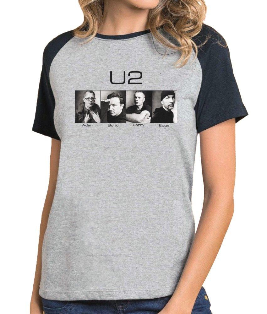 Camiseta Fem Raglan Banda U2 ES_078
