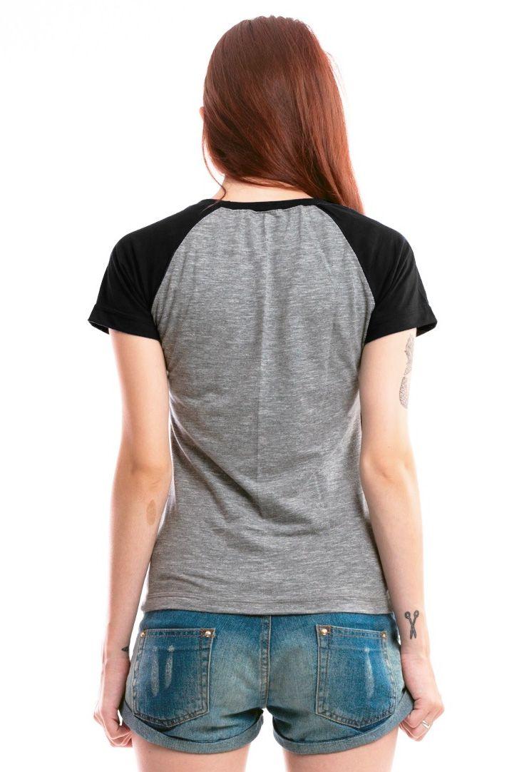 Camiseta Fem Raglan Bon Jovi Logo ES_035