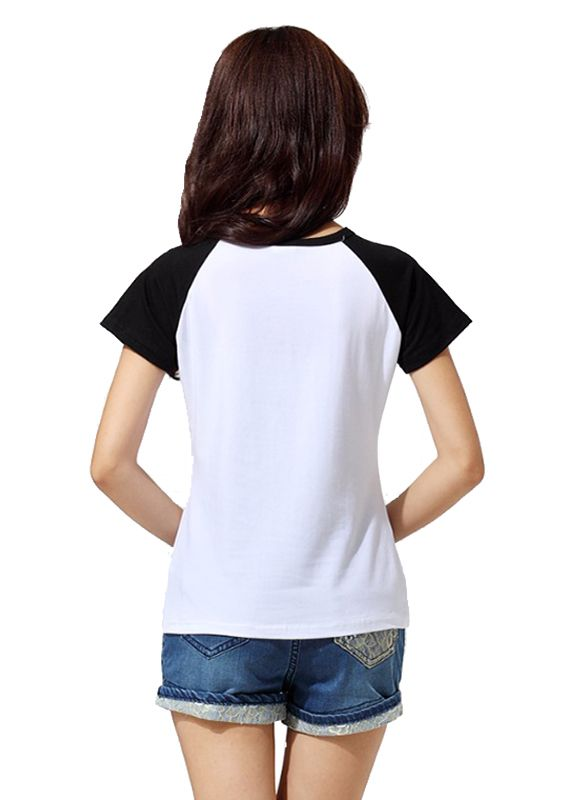 Camiseta Feminina Raglan Banda U2 ES_078