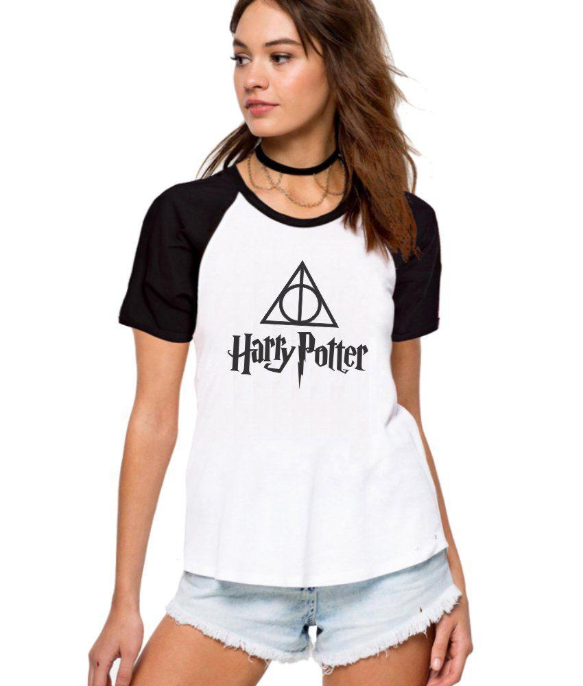 Camiseta Feminina Raglan Harry Potter ES_091