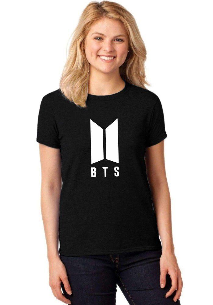 Camiseta Feminina T-Shirt BTS Kpop Bangtan Boys Baby Look ER_093
