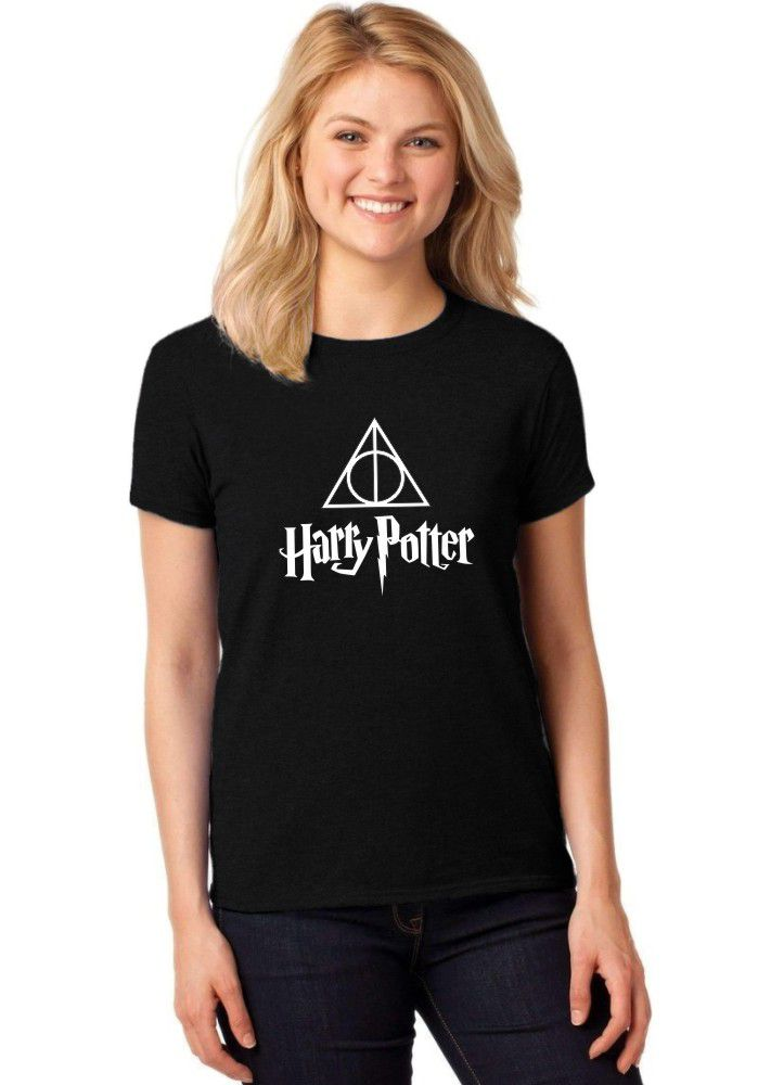 Camiseta Feminina T-Shirt Harry Potter Baby Look ER_038