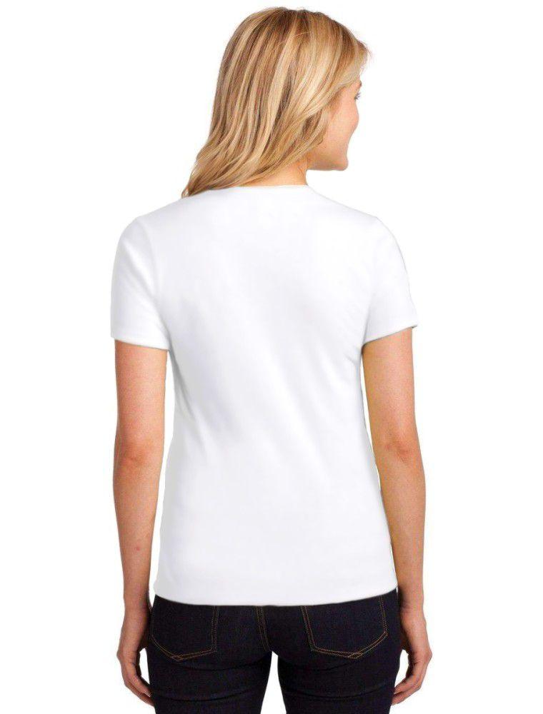 Camiseta Feminina T-Shirt Jesus Loves You Baby Look ES_058