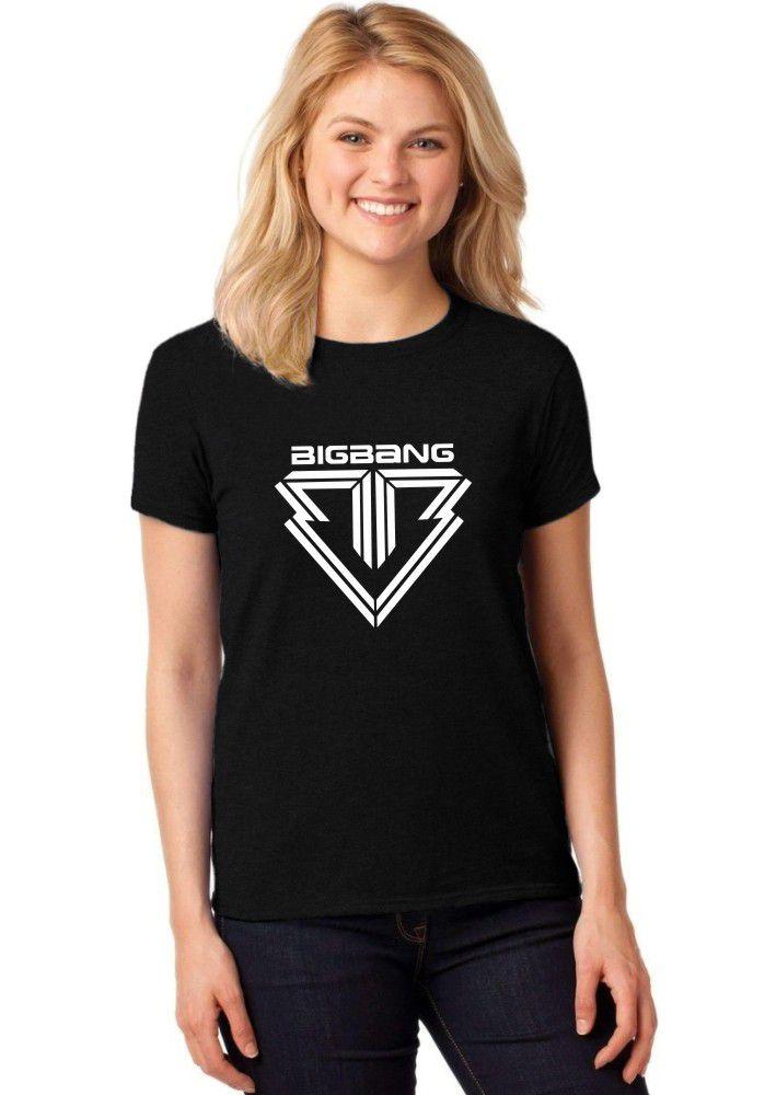 Camiseta Feminina T-Shirt Kpop Bigbang Baby Look ER_060