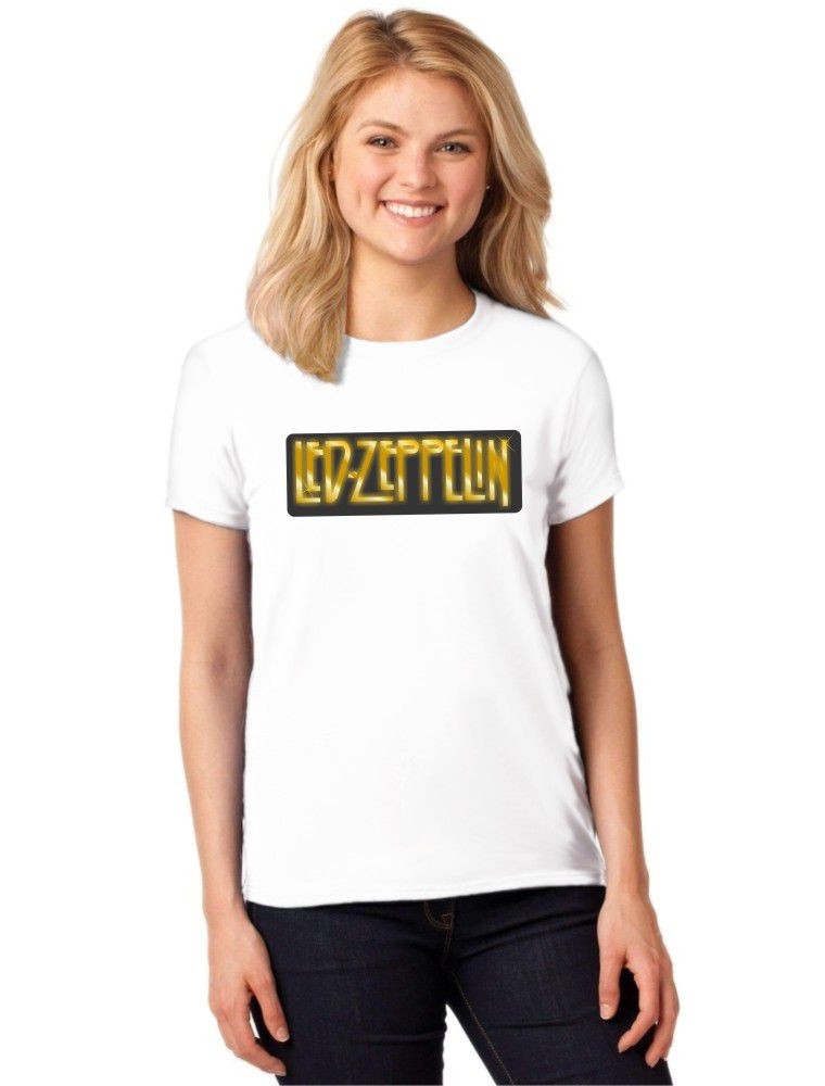 Camiseta Feminina T-Shirt Led Zeppelin Baby Look ES_114