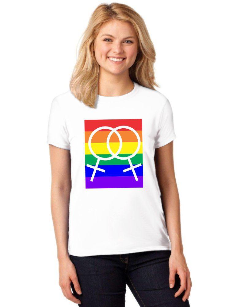 Camiseta Feminina T-Shirt LGBT Homossexual Baby Look ES_152