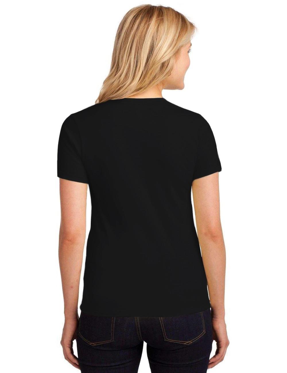 Camiseta Feminina T-Shirt Lisa Algodão Básica