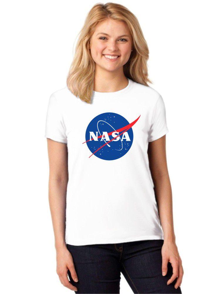 778230e85 Camiseta Feminina T-Shirt Nasa Baby Look ES 134