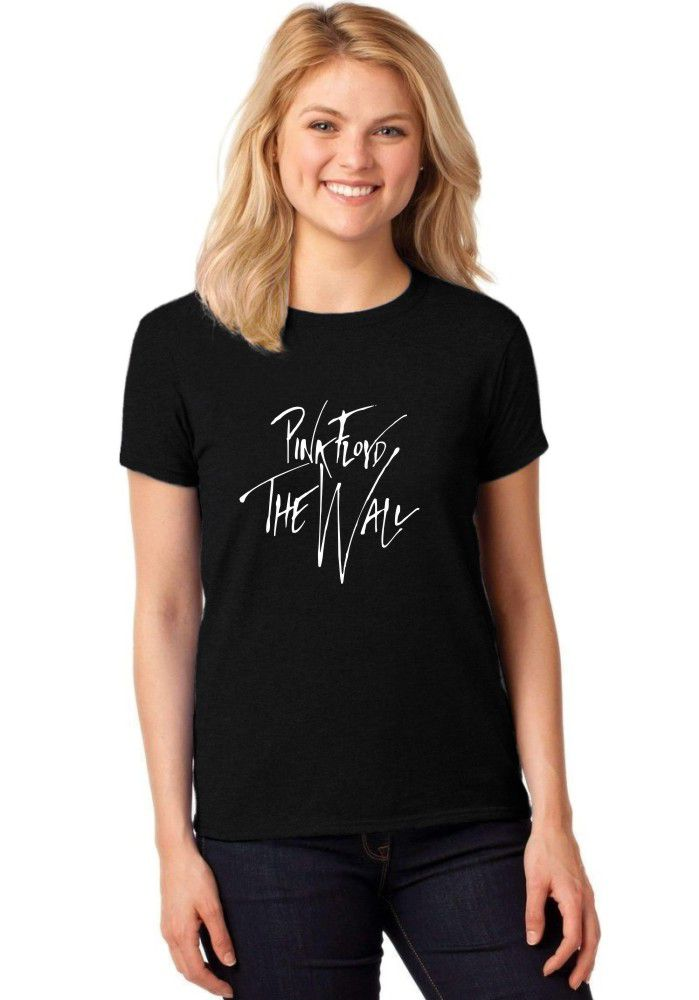 Camiseta Feminina T-Shirt Pink Floyd - The Wall Baby Look ER_017