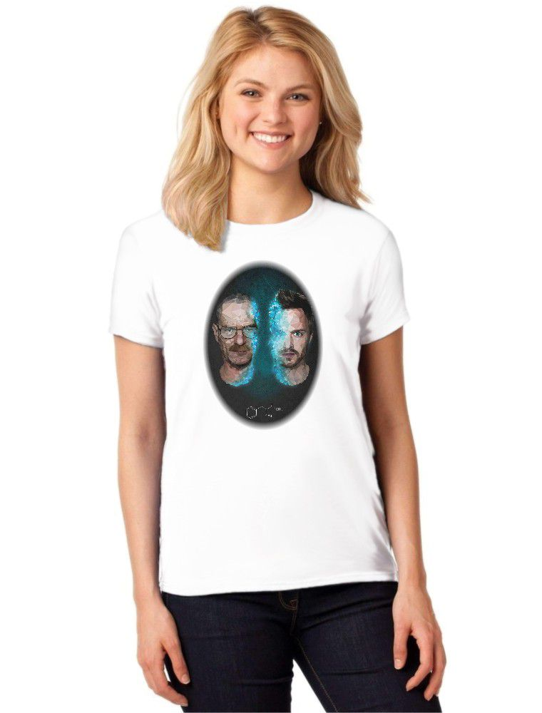 Camiseta Feminina T-Shirt Série Breaking Bad Baby Look ES_126