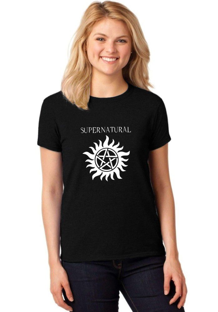 Camiseta Feminina T-Shirt Supernatural Anti Possessão Baby Look ER_042