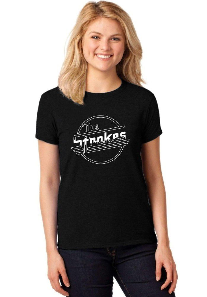 Camiseta Feminina T-Shirt The Strokes Baby Look ER_082