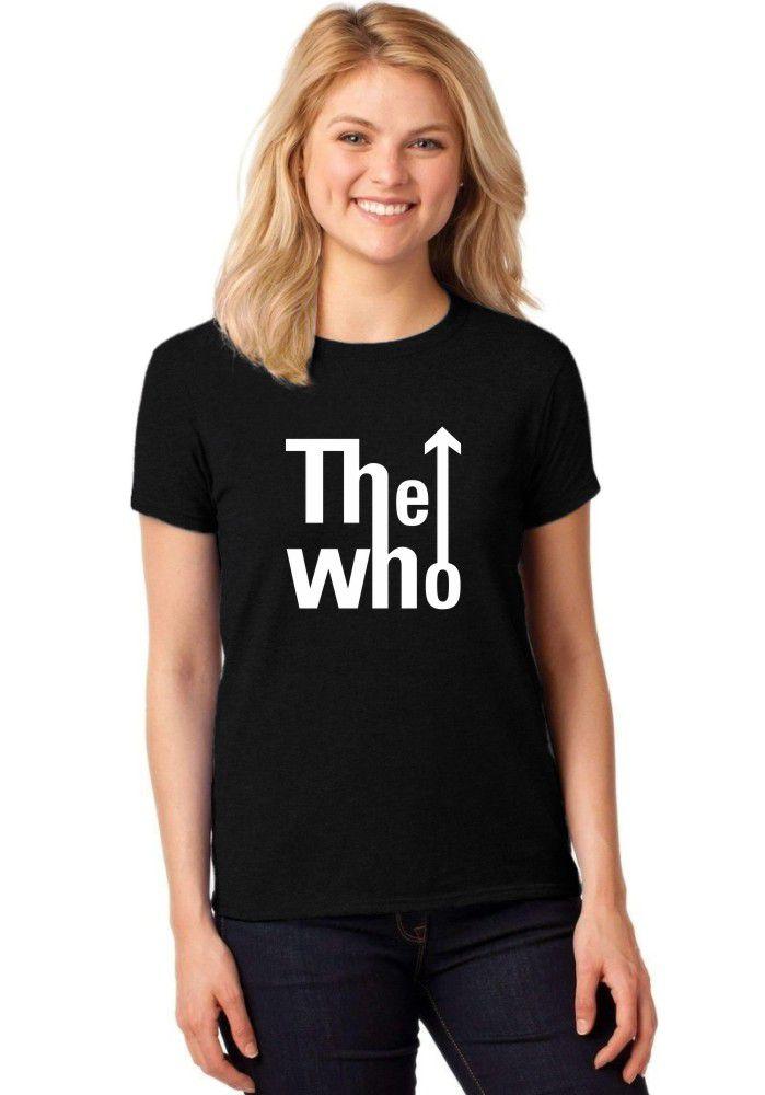 Camiseta Feminina T-Shirt The Who Baby Look ER_032
