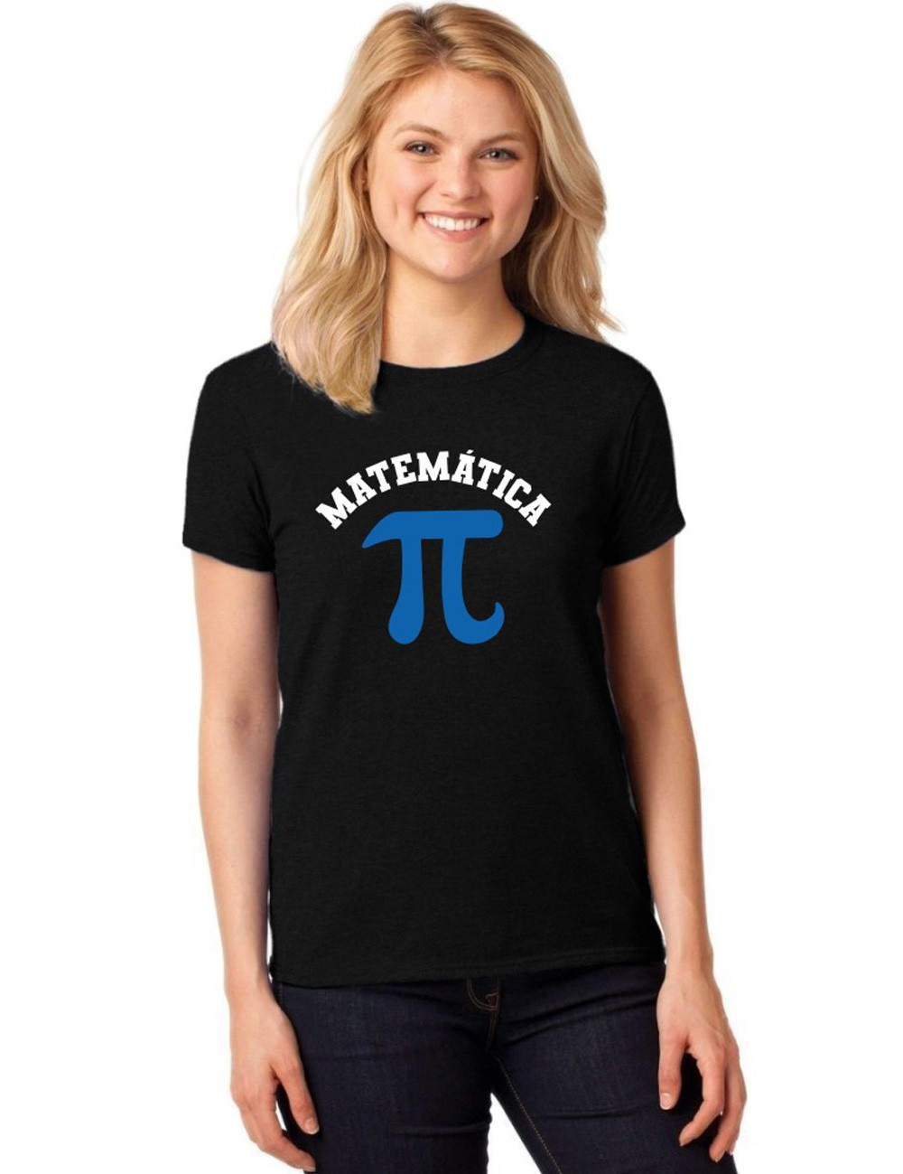 Camiseta Feminina T-Shirt Universitária Faculdade Matemática