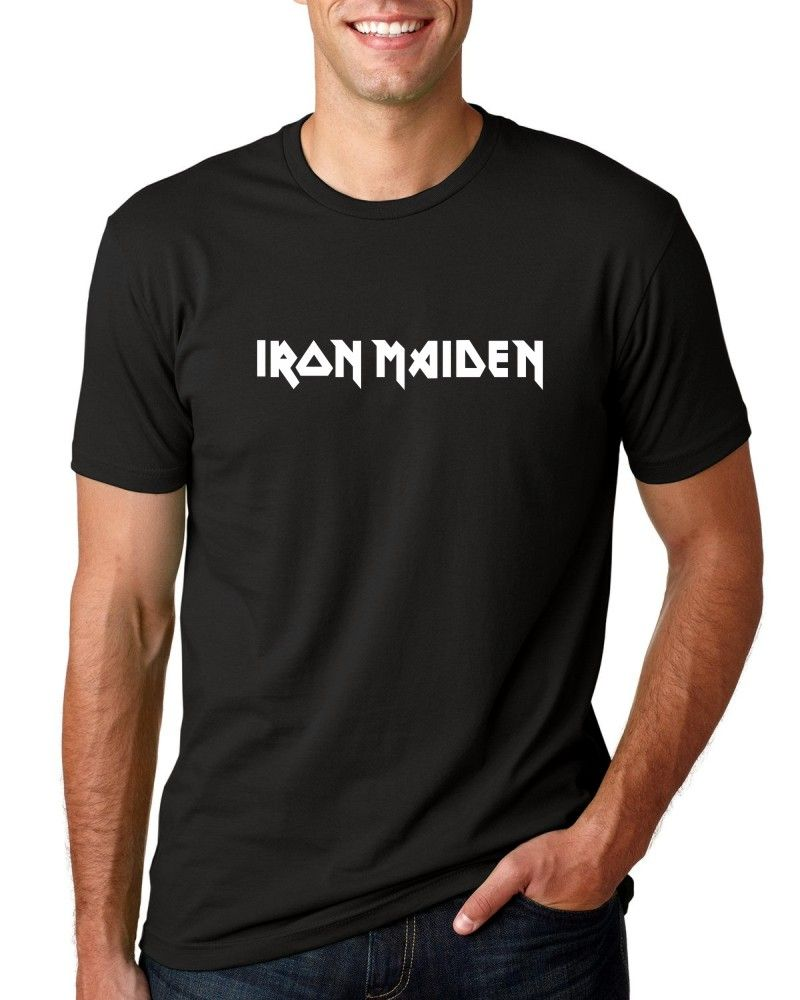 Camiseta Masc Iron Maiden Logo ER_011