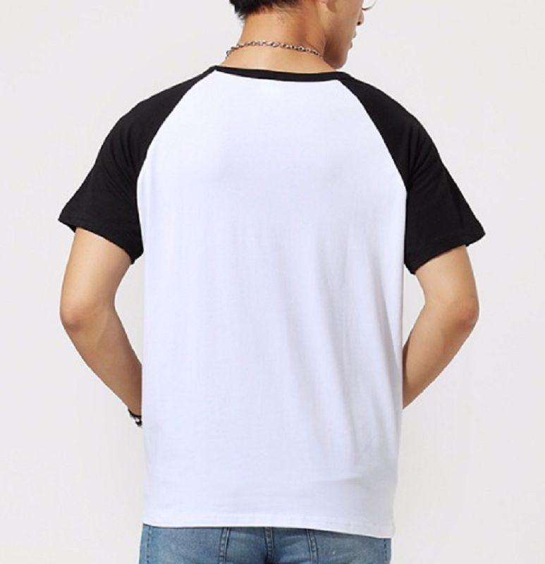 Camiseta Masc Raglan Jesus Loves You ES_058
