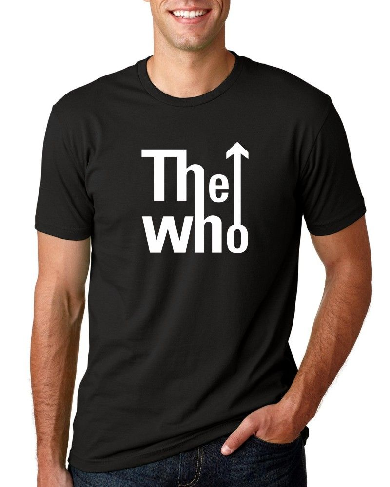 Camiseta Masc The Who Logo ER_032