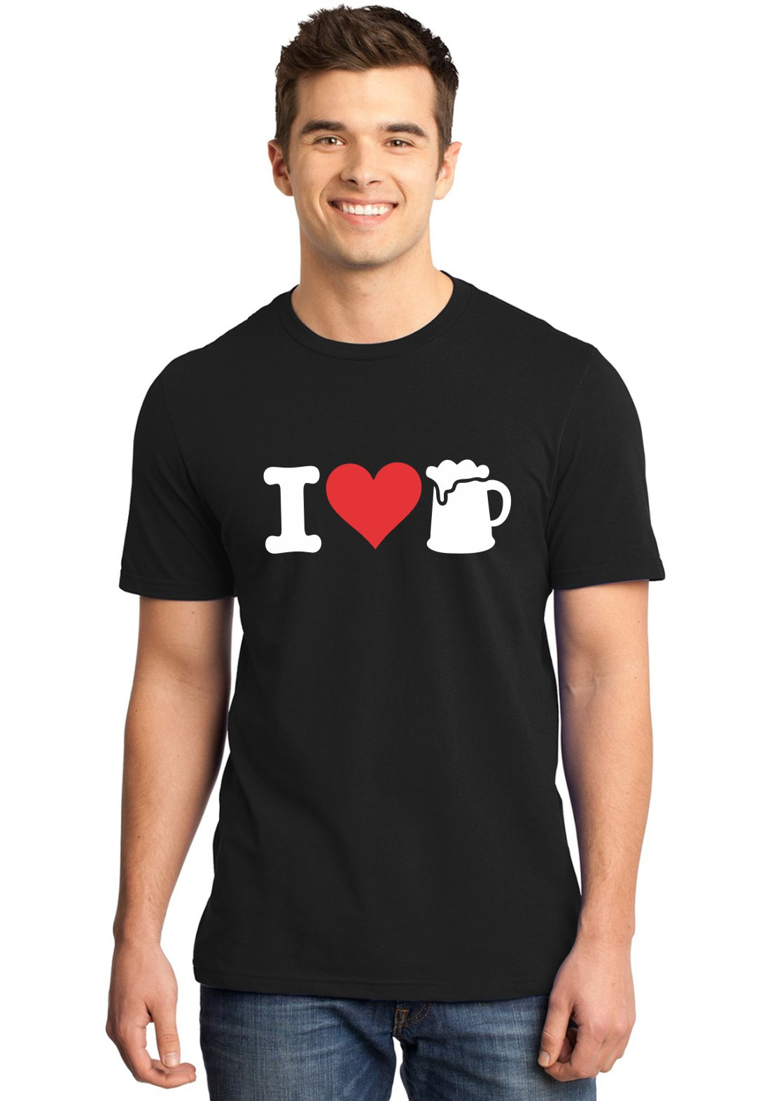 Camiseta Masculin I Love Beer ER_019