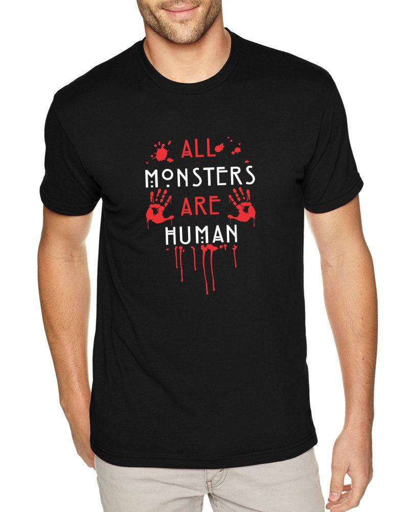 Camiseta Masculina American Horror Story All Monsters Are Human ER_085