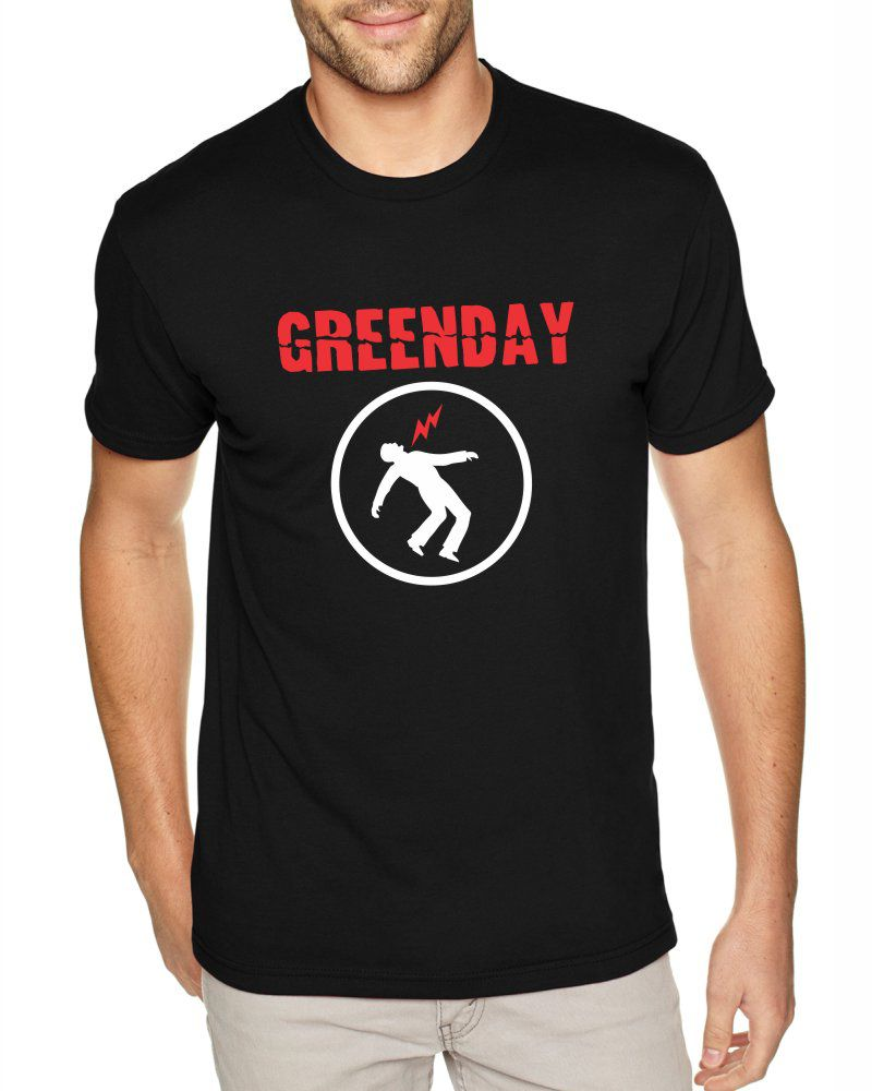 Camiseta Masculina Banda Green Day ER_070