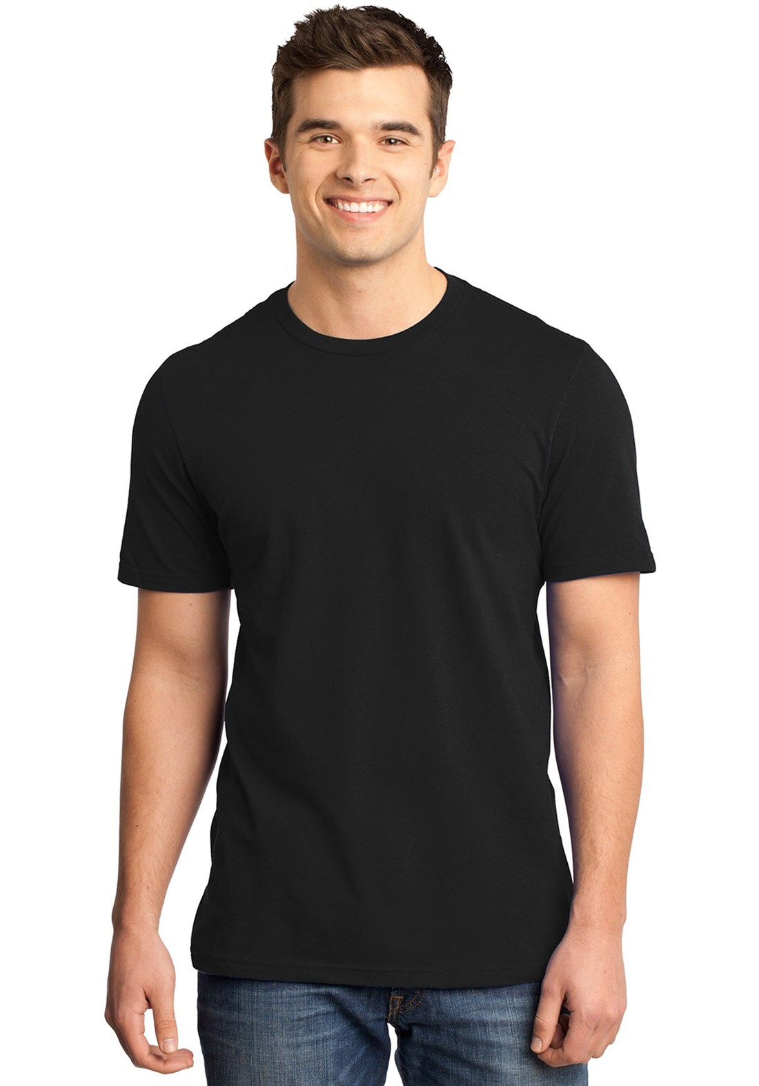 Camiseta Masculina Básica Lisa Algodão