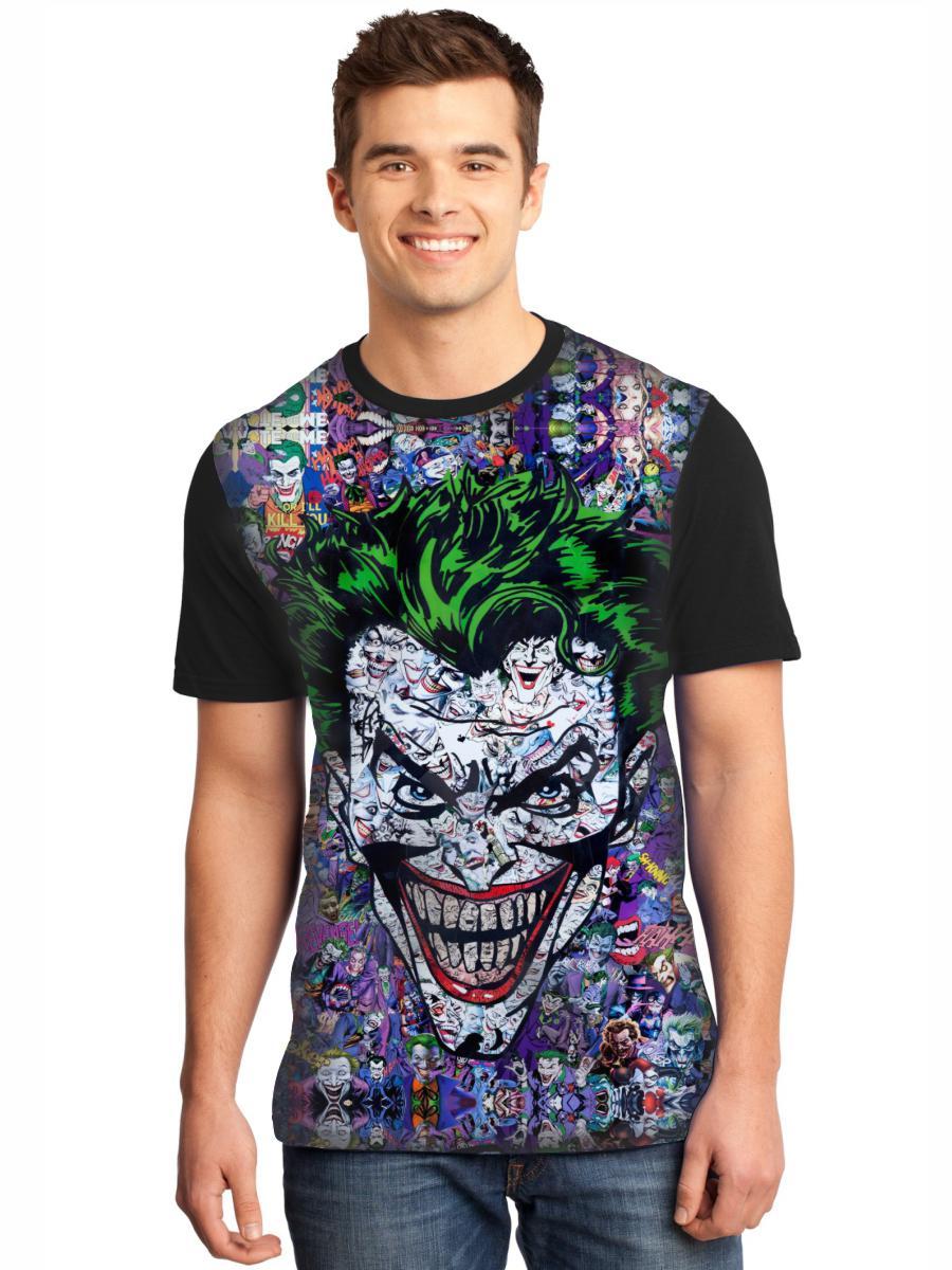Camiseta Masculina Full Printed Coringa FP_033