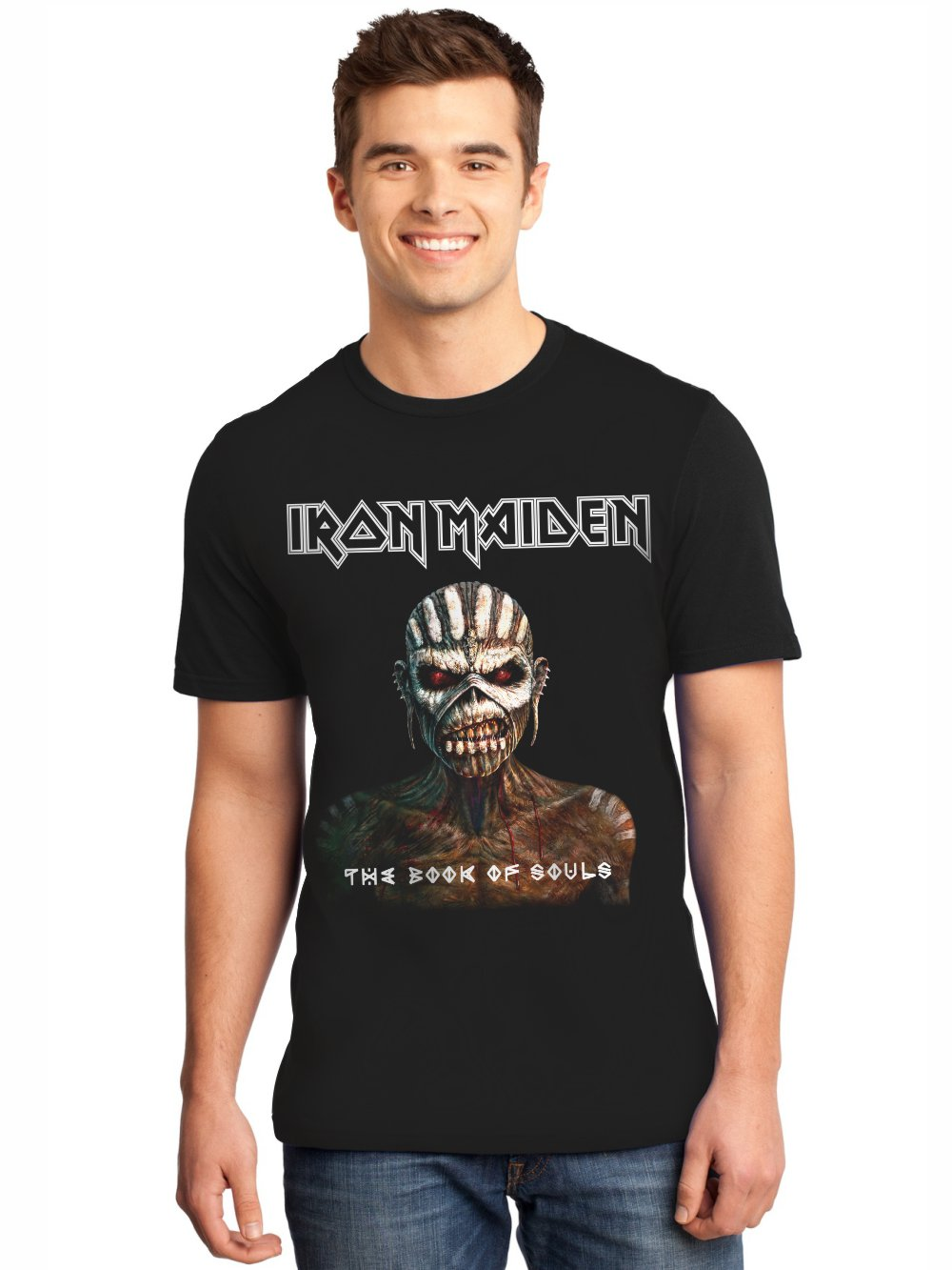 Camiseta Masculina Full Printed Iron Maiden The Book of Souls FP_001