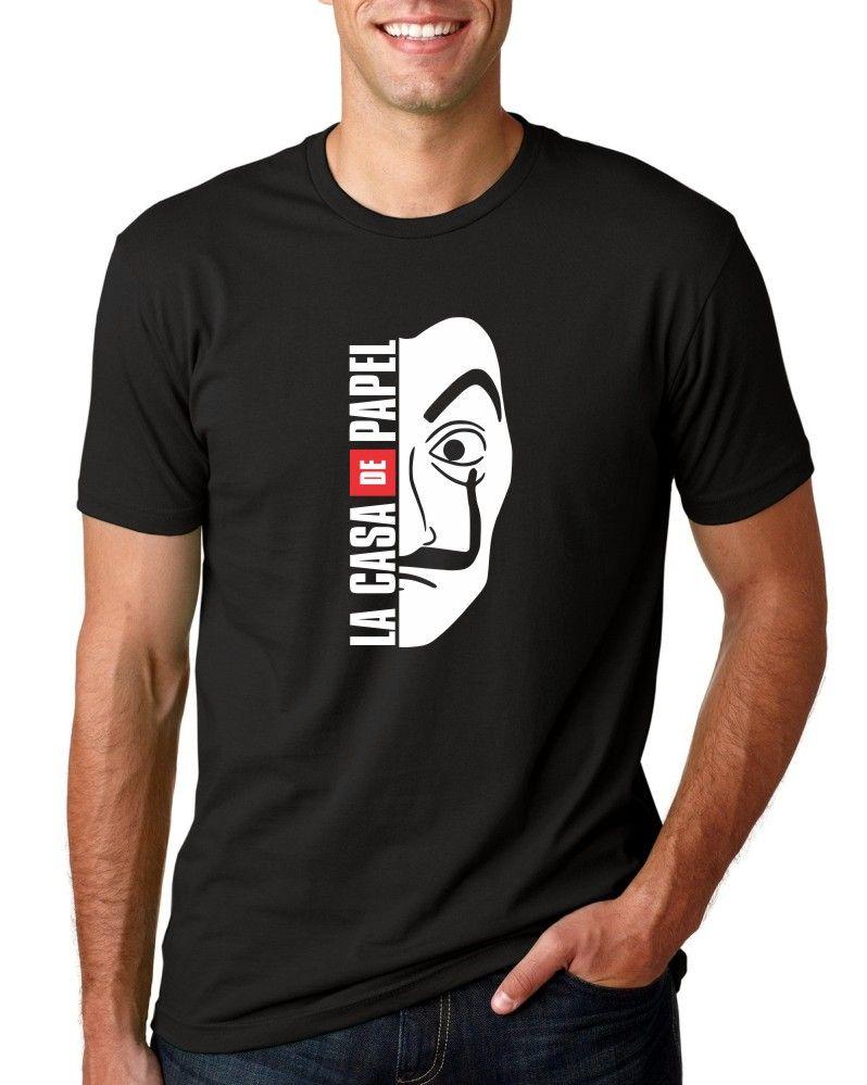 Camiseta Masculina La Casa De Papel ER_048