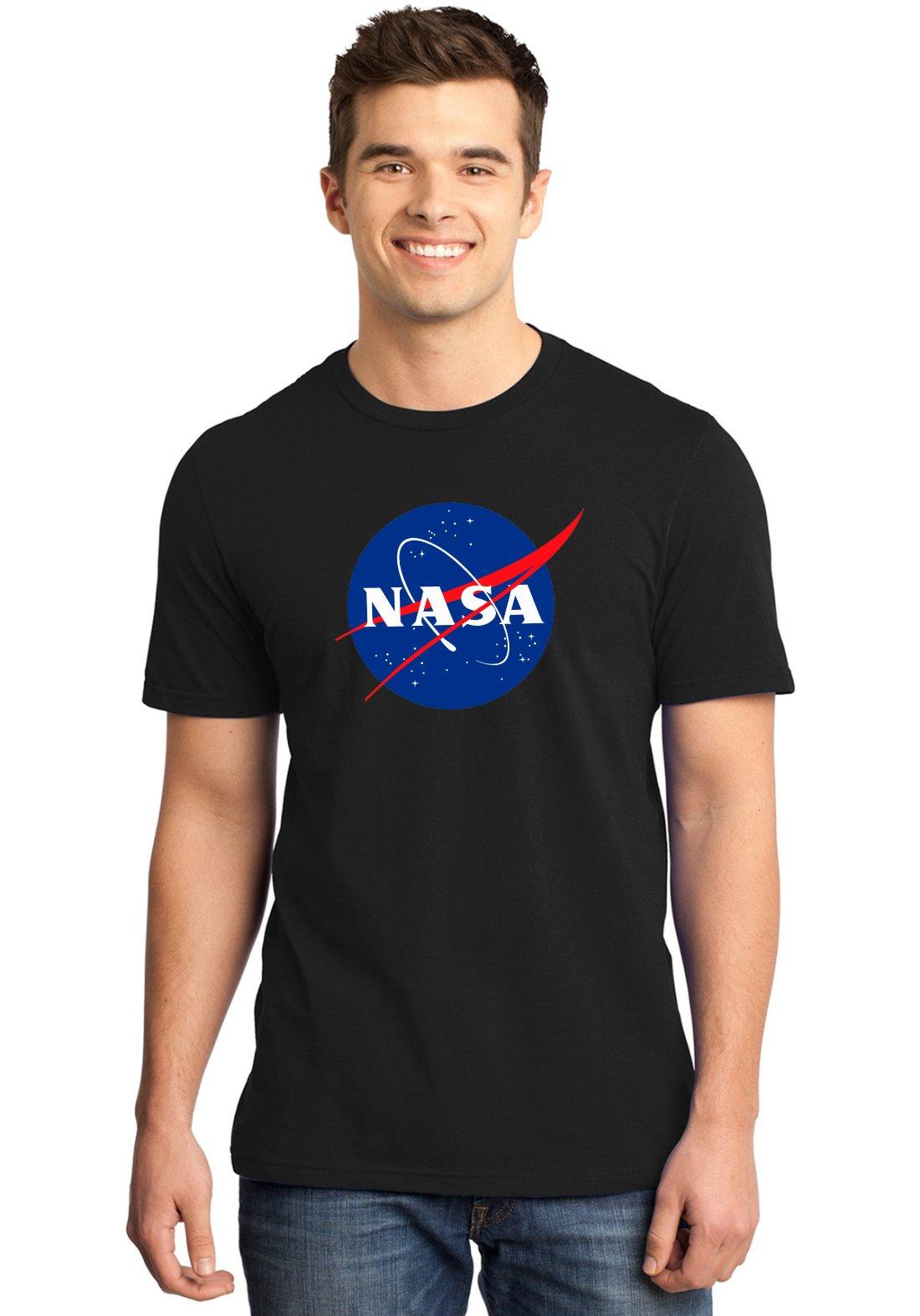 Camiseta Masculina Nerd Nasa Logo Geek ER_113
