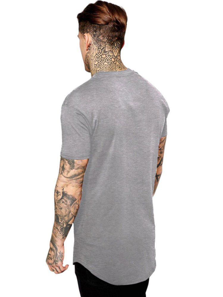 Camiseta Masculina Oversized Long Line AC DC For Those About to Rock ES_001