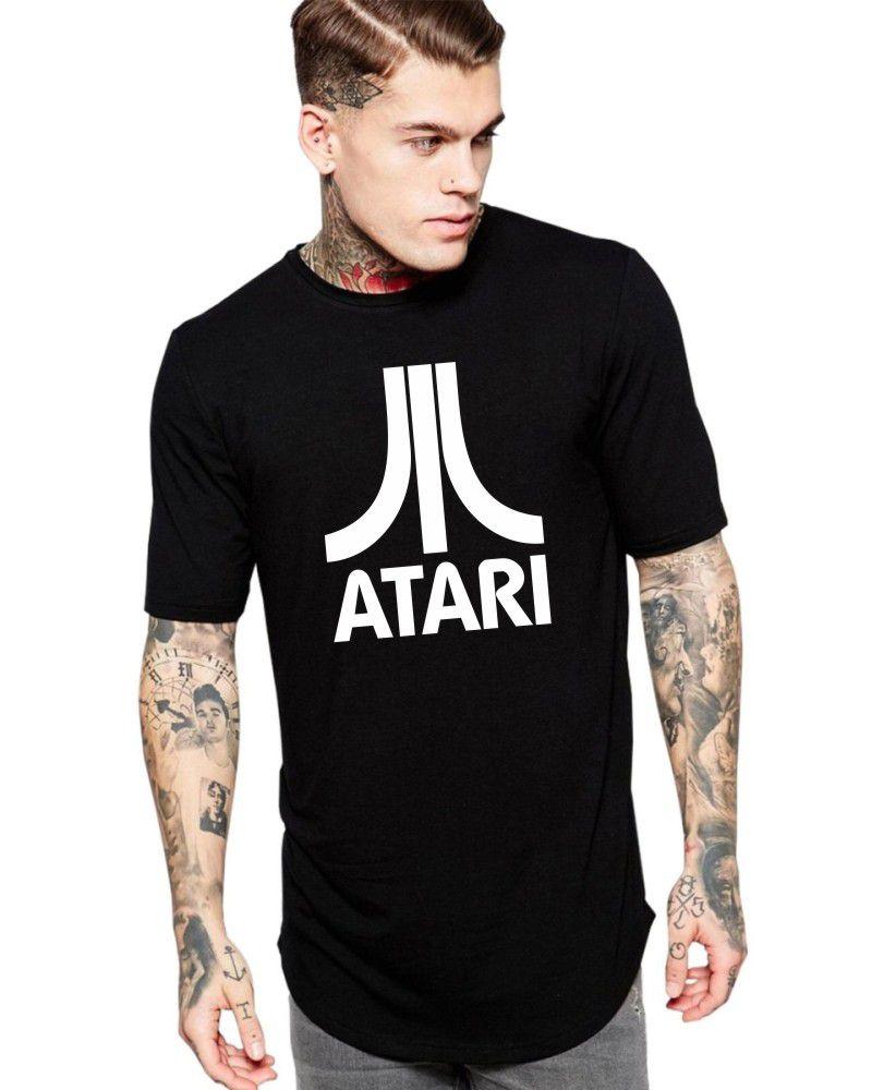 Camiseta Masculina Oversized Long Line Atari ER_091