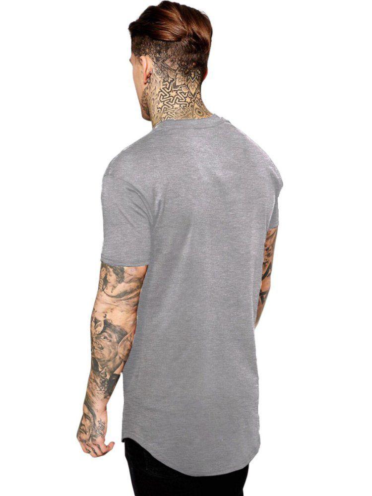 Camiseta Masculina Oversized Long Line Avenged Sevenfold Logo ES_023
