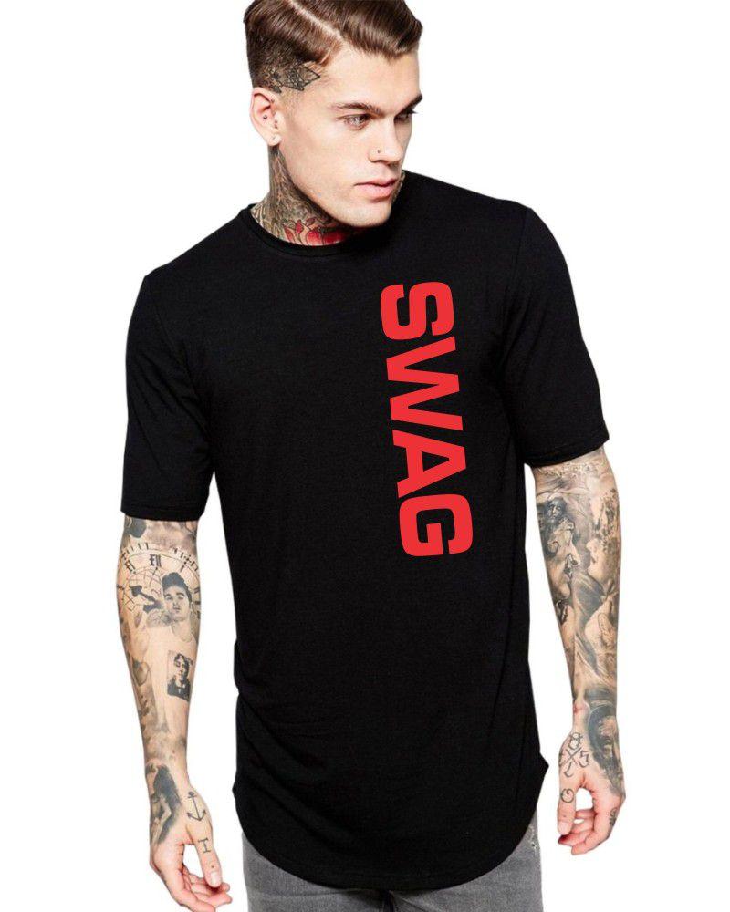 Camiseta Masculina Oversized Long Line Estilosa Swag ER_150