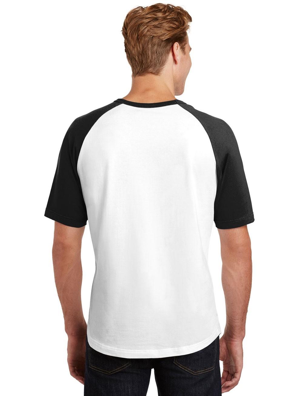 Camiseta Masculina Raglan Básica Lisa