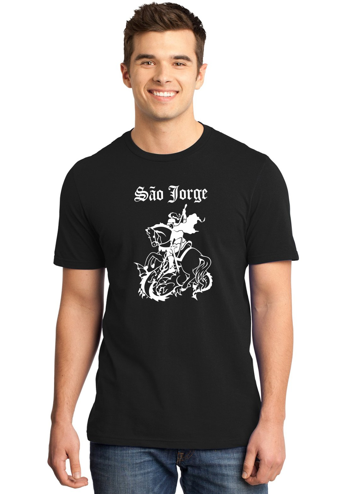 Camiseta Masculina Religiosa São Jorge ER_121