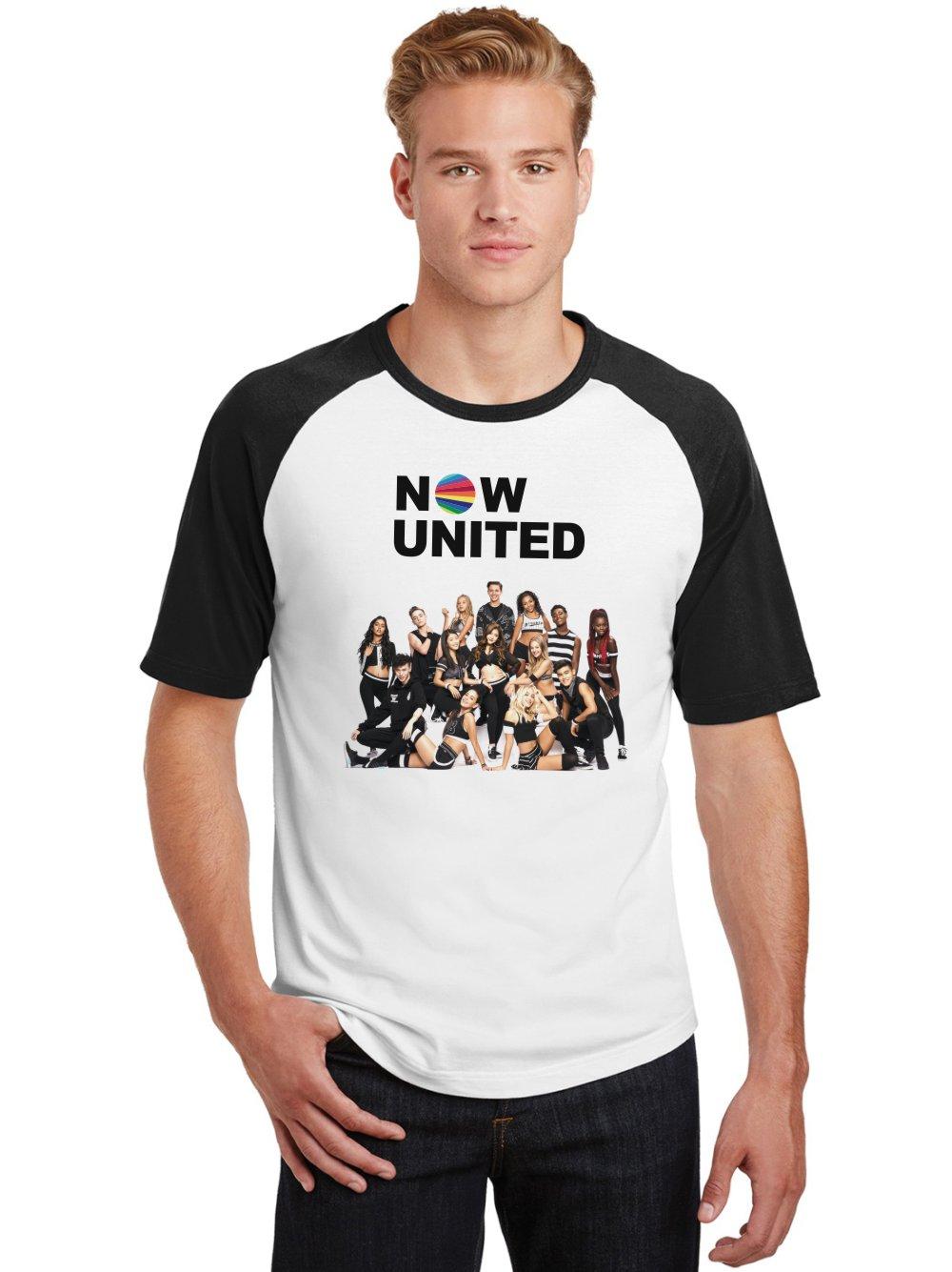 Camiseta Raglan Masculina Banda Now United Integrantes ES_212