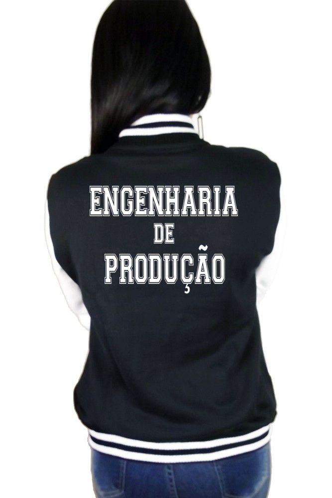 Jaqueta College Feminina Faculdade Engenharia de Produção