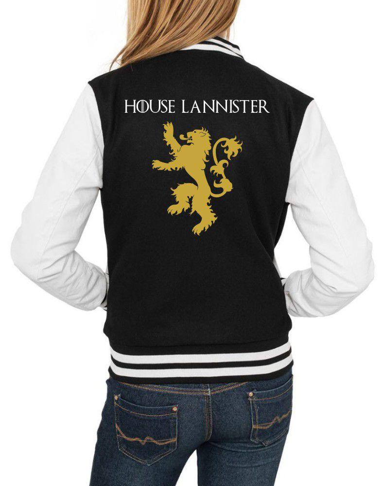 Jaqueta College Feminina Game Of Thrones House Lannister ER_130