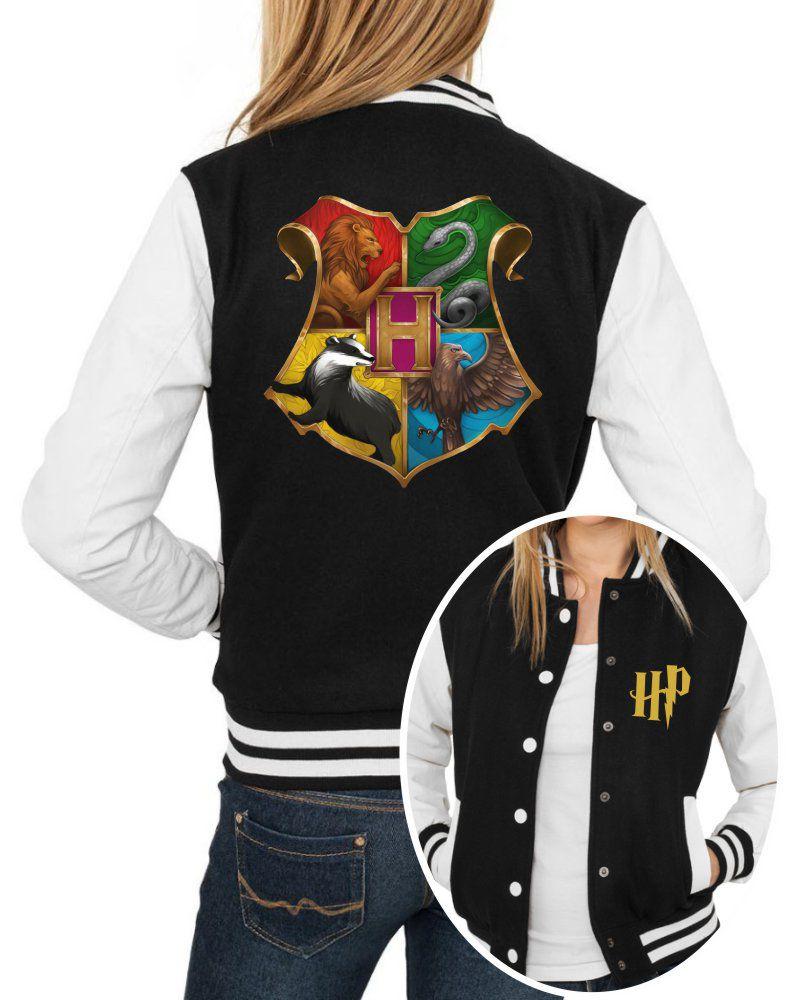 Jaqueta College Feminina Harry Potter Hogwarts ER_117