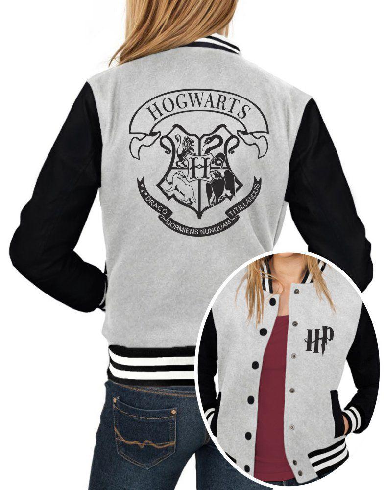 Jaqueta College Feminina Hogwarts Harry Potter ER_114