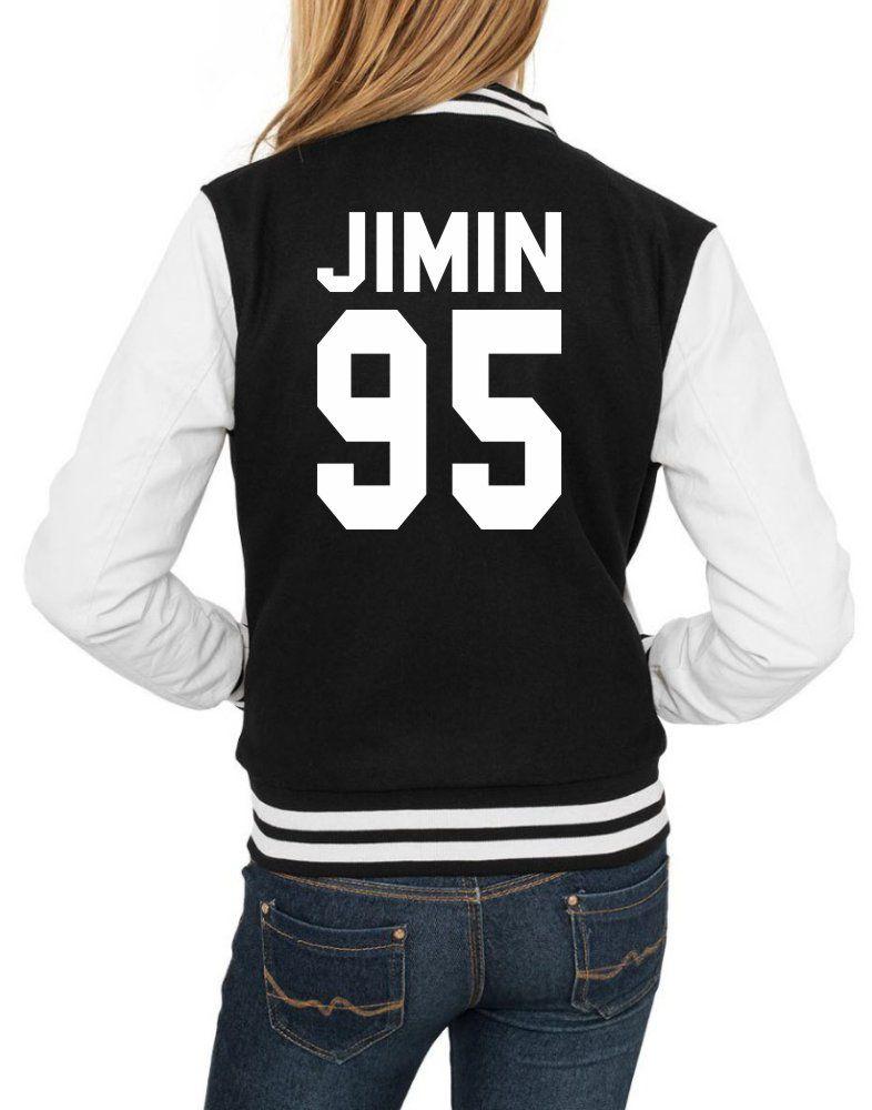 Jaqueta College Feminina Kpop BTS Integrantes Jimin 95 ER_104