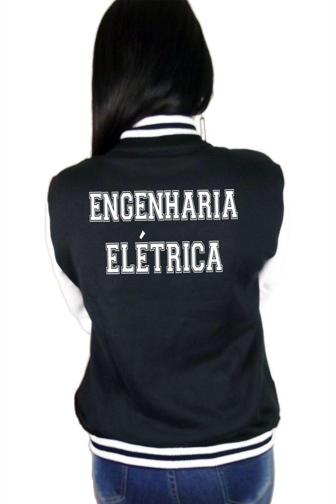 Jaqueta College Feminina Universitária Faculdade Engenharia Elétrica