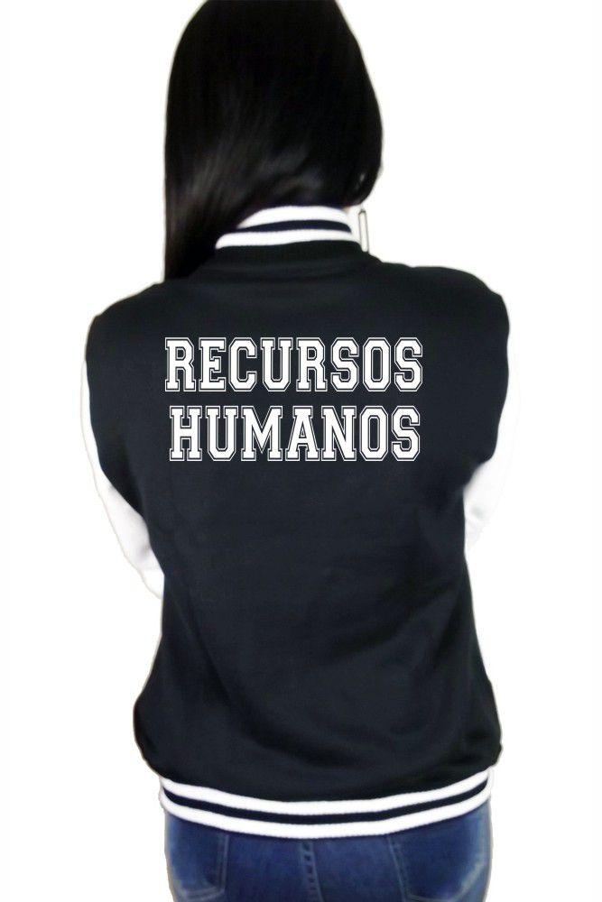 Jaqueta College Feminina Universitária Faculdade Recursos Humanos