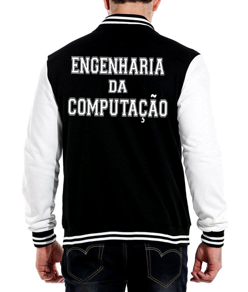 Jaqueta College Masculina Faculdade Engenharia da Computação