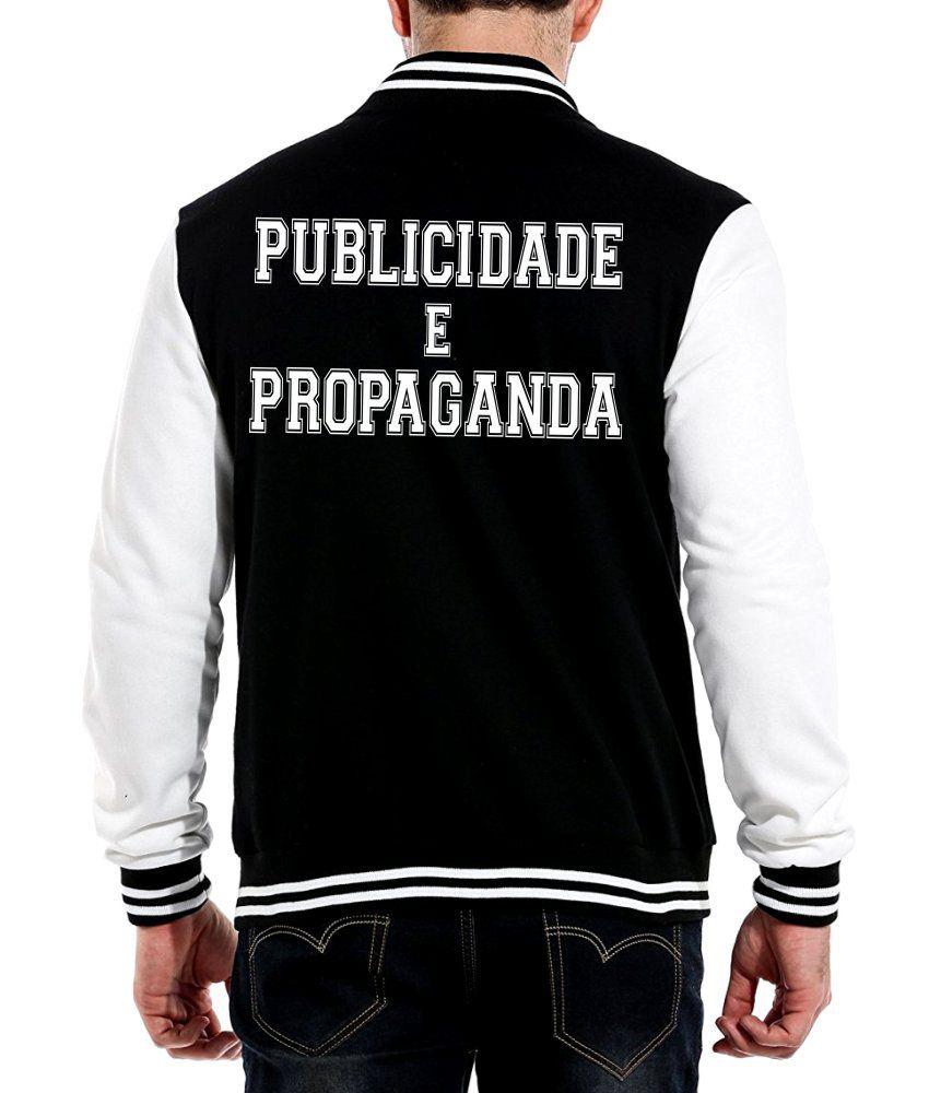 Jaqueta College Masculina Faculdade Publicidade e Propaganda