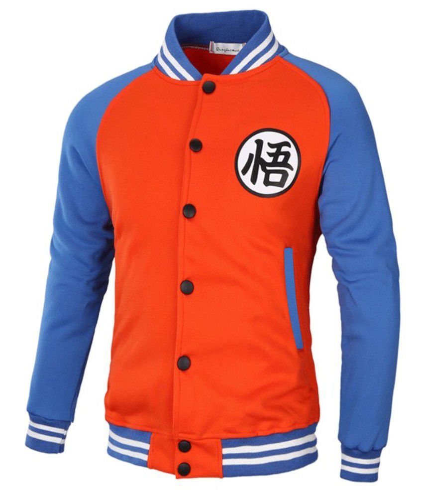 Jaqueta College Masculina Goku Moletom Dragon Ball