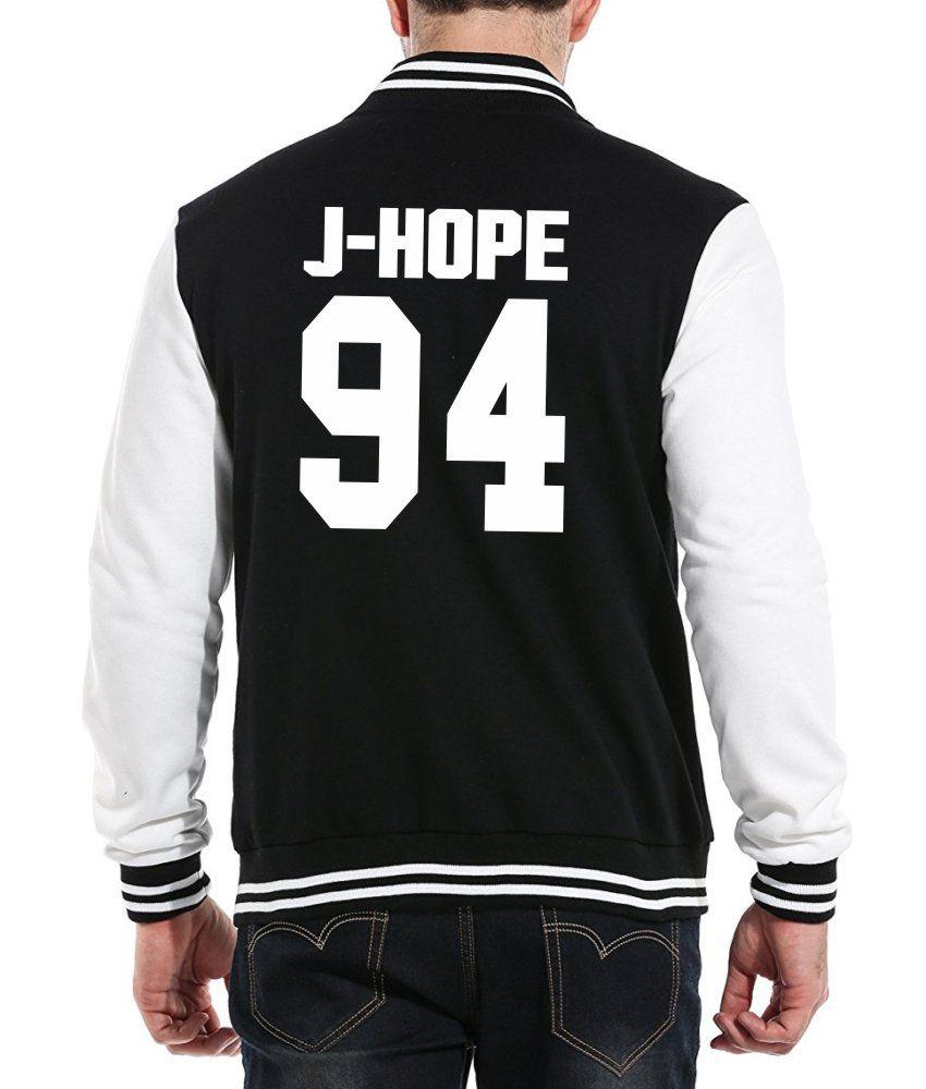 Jaqueta College Masculina Kpop BTS Integrantes J-Hope 94 ER_110