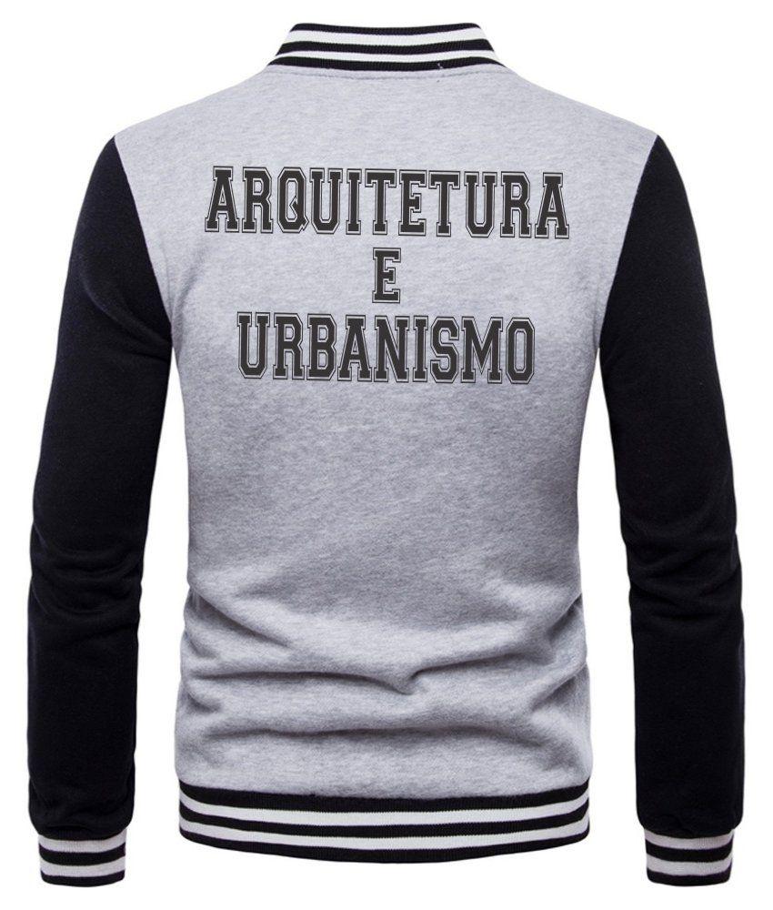Jaqueta College Masculina Universitária Faculdade Arquitetura e Urbanismo