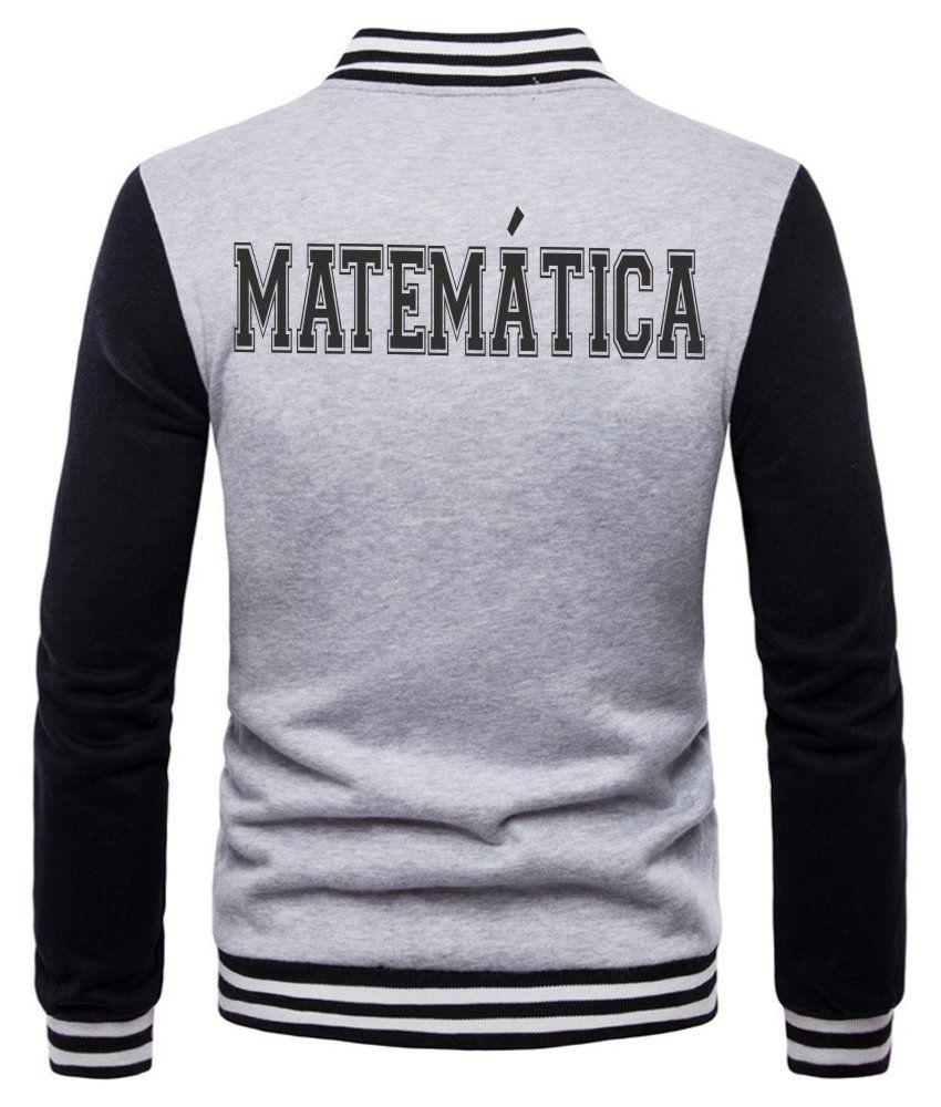 Jaqueta College Masculina Universitária Faculdade Matemática