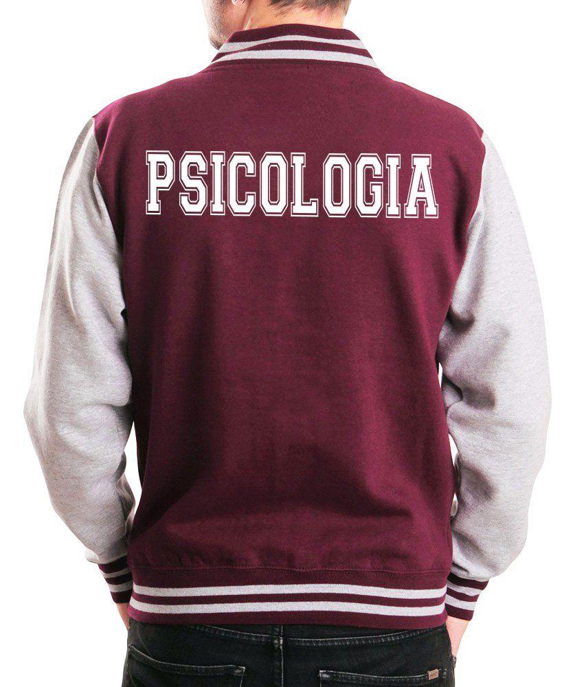 Jaqueta College Masculina Universitária Faculdade Psicologia